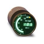 Temperaturanzeiger / elektronisch / Öl / für Flugzeuge