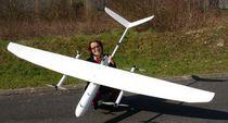 Dron de vigilancia / con alas fijas / cuadrirrotor / con motor eléctrico
