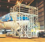 dock aeronáutico para el morro del aparato / móvil / para avión