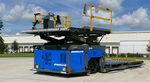 cargador elevador de tijera / para mercancía / eléctrico / para aeropuerto