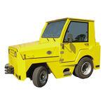 tractor pushback / con barra de remolque / para aeronave / para aeropuerto