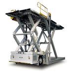cargador elevador de tijera / para mercancía / para aeropuerto