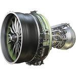 turborreactor para avión de línea / con compresor axial