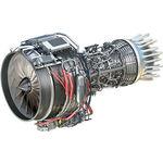turborreactor 0 - 100 kN / + 300 kg / para avión ejecutivo / para la aviación general