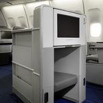 sistema de entretenimiento para avión ejecutivo