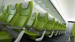 asiento para cabina de avión / para clase turista / con pantalla integrada / con mesa