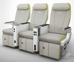 asiento para cabina de avión / para business class / para clase turista / con pantalla integrada