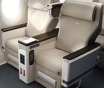 Sillón para cabina de avión / para business class / con reposacabezas ajustable / con mesa CL5710 RECARO Aircraft Seating GmbH & Co. KG