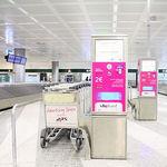 carro de equipaje para terminal de aeropuerto / de 3 ruedas