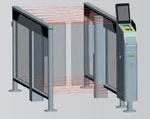 puerta de embarque automática con lector RFID / con lector de códigos de barras / para aeropuerto
