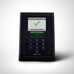 lector de tarjetas inteligentes / con teclado integrado / para control de acceso / para aeropuerto