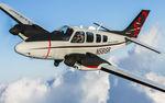 avión de negocios con turbopropulsión