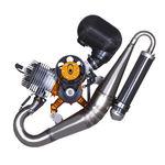motor de émbolo de 2 tiempos / en línea / monocilindro / para ultraligero