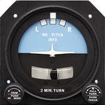 indicador de viraje analógico / eléctrico / con luz / para avión