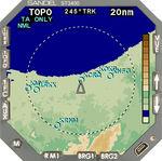 TAWS para avión ST3400 Sandel Avionics