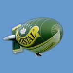 dirigible de aire caliente / no rígido / publicitario