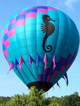 globo aerostático para el transporte de personas