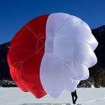 paracaídas de emergencia / monoplaza