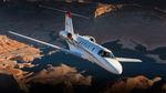 avión de negocios a turborreacción