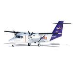 avión de carga de distancias largas / 0 - 50 t / a turbopropulsión