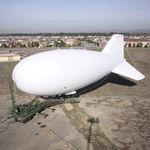dirigible con helio / rígido / para el transporte / vigilancia ambiental