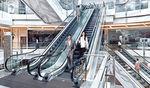 escalera mecánica para aeropuerto