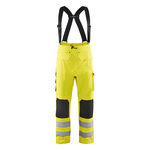 pantalón de trabajo / para personal de pista / de alta visibilidad / impermeable