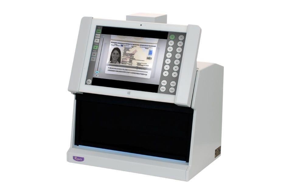 Appareil d authentification de bureau pour document pour carte
