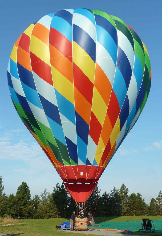 montgolfiere traduction