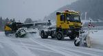 souffleuse à neige autotractée / pour aéroport