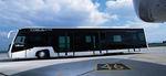 bus climatisé / pour aéroport