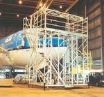 dock aéronautique pour le nez de l'appareil / mobile / pour avion
