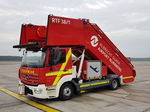 escalier de secours / télescopique / pour avion / pour passagers