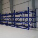 système de stockage multiniveau / pour palettes / pour aéroport