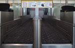 Convoyeur à bandes / à bagages / pour le check-in / horizontal Check-In VANDERLANDE