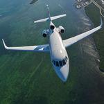 avion d'affaires super-intermédiaire / à turboréaction