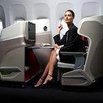siège pour avion / pour classe affaires