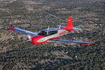 avion de tourisme avec moteur à pistons / 4 places / monomoteur / voilure basse