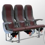 siège pour cabine / pour classe économique / en tissu / en cuir