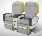 siège pour avion d'affaire / pour business class / avec appui-tête ajustable / avec écran intégré