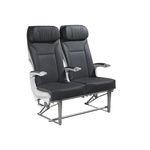 siège pour avion / pour classe économique / avec accoudoirs