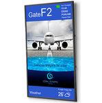 Écran d'aérogare LCD / 3840 x 2160 / pour intérieur / pour FIDS X-UHD SERIES NEC Display Solutions Europe GmbH