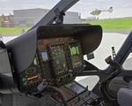 cabine de simulation d'avion / d'hélicoptère / d'entraînement / en cockpit