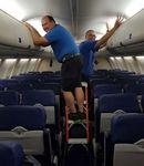 escabeau de maintenance / pour avion