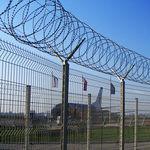 clôture de sécurité / soudée / à barreaudage / pour aéroport