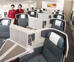 siège pour cabine / pour business class / avec écran intégré / avec accoudoirs