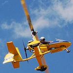 gyrocoptère monoplace / moteur 4 temps