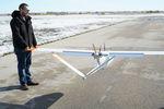 drone de mesure / à voilure fixe / avec moteur à pistons