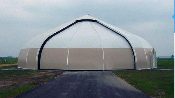 Roll-up hangar doors / automatic - hangar door & Roll-up hangar doors / automatic - hangar door - SPRUNG STRUCTURES ...