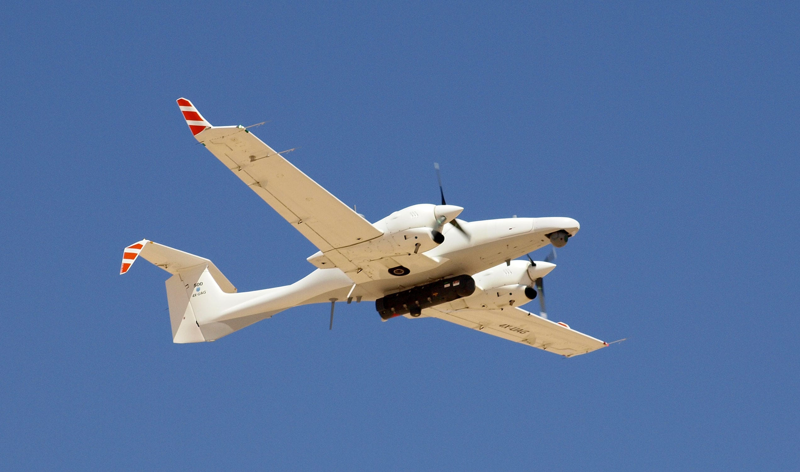 Surveillance Drone Reconnaissance Fixed Wing With Turboprop